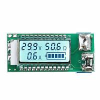 18650 26650 лития тестер литий-ионный аккумулятор ЖК-индикатор напряжения тока емкости