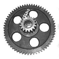 Блок шестерен редуктора самохода (z=62/17) ОВС-25