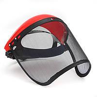 Прозрачный сетчатый полный козырек откидной щиток для лица Экран защитной маски Защитный шлем для глаз