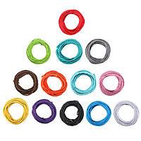 10m старинные цветные поделки твист плетеный ткани гибкий кабель провод кабель электрический свет лампы