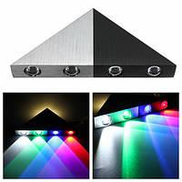 5w современный треугольник LED стена Бра спальни отель декоративный свет