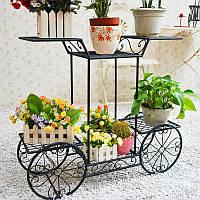 Творческая многофункциональная форма велосипеда Железная посадка Цветочный горшок стойки Коридор стены Коннер полка