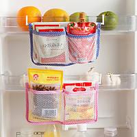 Хонана HN-B15 холодильник висит сумка для хранения кухонная сетка Организатор Приправа сумки