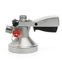 Нержавеющая сталь G-типа Keg Coupler Draft Пивной диспенсер для домашнего приготовления с Clicket