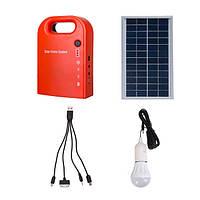 Портативные панели солнечных батарей группы 2 Светодиодная лампа с USB-кабелем Зарядное устройство Аварийная система освещения