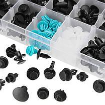 299Pcs 18 Размер автомобильных пластиковых Push Pin заклепки Trim Clip Ассортимент Kit-1TopShop, фото 2