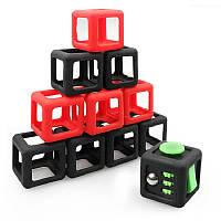 Fidget Dice Vinyl Desk Cube Toy Защитная бухта Anti Irritability Волшебные прикольные подарки для детей