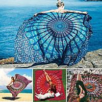 Honana WX-99 Новый 150x210см чешский стиль полиэфирного волокна пляж полотенце гобелен Мандала прямоугольник простыня