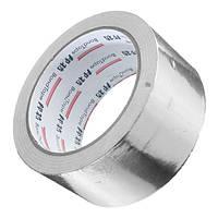 50 мм х 25 мм Серебряная алюминиевая фольга с отражателем тепла Самоклеящаяся лента с кольцевым уплотнением