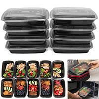 Контейнеры для пищевых продуктов емкостью 10 литров с крышкой с многоразовым пластиковым контейнером для обезжиренного пластика BPA