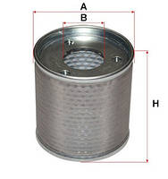 Гидравлический фильтр (всасывающий) для вилочного погрузчика TOYOTA 8FD10/15/20/25/30/J35