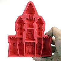 Дворцовый замок в форме ледяного куба Лоток из силикона 3d бриллианты Gem Cool Ice Cube Шоколадная мыльная плесень