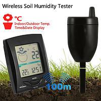 100m беспроводной передачи влажности почвы тестер многофункциональный инструмент измерительный прибор в помещении температура наружного