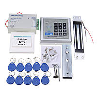 125KHz RFID ID карты пароль системы контроля доступа Электрический магнитный замок