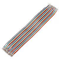 120 штук 30см мама-мама макетная перемычку кабельный разъем проводной линии