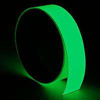 3mx12 / 15/20/30/40/5 / 100мм светящаяся лента самоклеящаяся светящиеся в темноте безопасности этапа домашнего декора