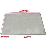 Титанового сплава пластины ТА2/gr2 титановую пластину 0.5 × 100 × 100 мм