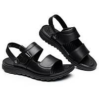 US Size 7.5-10 Мужской Мужчины кожа плоские сандалии пляжный массаж мягкий склон с тапочками обувь