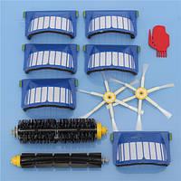 Аксессуары для пылесосов 11 шт. Набор Фильтры и Кисти для iRobot Roomba 600 Series