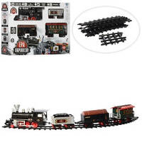 Железная дорога для детей 701830 R/YY 126 длина 420см дым звук свет