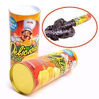 Хитрые картофельные чипсы Отскакивающие змеи Смешные игрушки День дураков Хэллоуин подарки для мужчин Женщины Друзья
