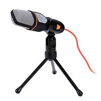 SF-666 проводной стереомикрофон с держателем