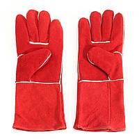 Перчатки из Вудбернера Длинные рукава для сварщиков Пожарная защита от высокой температуры Печи для сварки