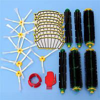 24 штук пылесос аксессуар набор фильтров и щетки для irobot румба 500 серий