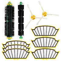 Аксессуары для пылесосов 10 шт. Набор Фильтры и Кисти для iRobot Roomba 500 Series