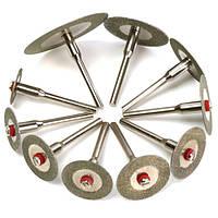 10шт алмазный отрезной диск комплект минидрелей отрезан колесо для вращающегося инструмента