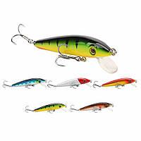 SeaKnight SK012 1 штук Minnow Fishing Lure 6g 70mm 0-0.6M Жесткий приманка 3D Главы Swimbait для карпа Рыбалка
