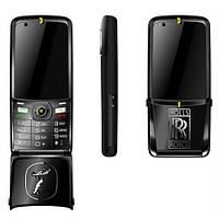 Мобильный телефон-раскладушка VERTU ROLLS ROYCE V095 с флипом на 2 сим-карты