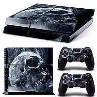 Череп Стикер для стилей кожи для PS4 Play Station 4 Консоль 2 Контроллеры Виниловая наклейка