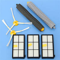 7 штук фильтры и щетки пылесоса комплект принадлежностей для IROBOT Roomba 800 серии 900