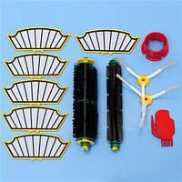 12pcs пылесос аксессуар набор фильтров и щетки для irobot румба 500 серий