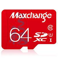 Maxchange C10 Class 10 TF Micro SD карта памяти 16G 32G 64G с набором микро SD на SD-кардридер
