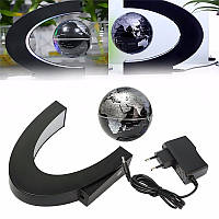 С формой LED карта мира магнитной левитации плавающей глобус свет украшение дома