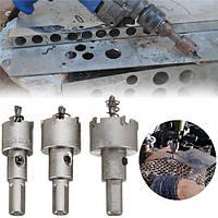 3шт отверстие увидел резак карбида наконечник сверла стали Kit 20/25/30 мм для металла обработки древесины