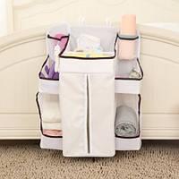 Водонепроницаемый подгузники Big Spece Organizer Детские кровати висячие сумки Портативные сумки хранения