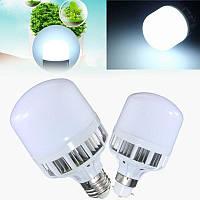 Неизменяемый E27 B22 5W 260LM SMD5730 Яркий белый светодиодный светильник для дома AC220V