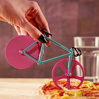 Honana CF-BW03 Велосипедная пицца Cutter Профессиональная нержавеющая сталь Антипригарное круглое пицца Slicer