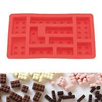 KCASA KC-ON021 Силиконовый кирпич Кубик льда Кубики льда Строительные кирпичи Шоколадные конфеты Мыльница Детский набор игрушек