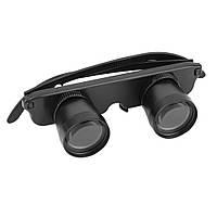 IPRee ™ 3X28mm HD Бинокулярный телескоп с головным ушком Optic Очки Goggles Magnifier