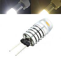 G4 3W светодиодный алюминиевый корпус лампа теплый белый чистый белый люстра галогенная лампа DC12V