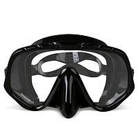 Copozz Анти Противотуманные подводные очки Scuba Маска Очки Силиконовый Large HD View Tempered Mirrored Объектив
