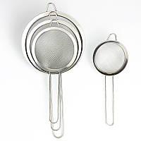 Нержавеющая сталь Кухня Ручной муки порошок Просеиватель сито выпечки обледенения Сахар шейкер инструмент