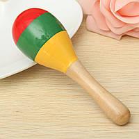 Популярный детский ребенок звук музыка малыш погремушка музыкальные деревянные красочные игрушки подарок