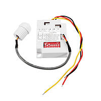 Датчик человеческого тела индукционные IR Модуль Motion Sensing Время задержки выключатель для светильника света прокладки AC220V