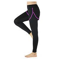 Бегущие брюки двухкусочные компрессионные колготки эластичные брюки для тренировок Yoga arsuxeo женщин