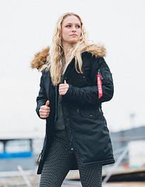 Женские куртки Alpha Industries